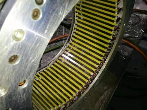 力矩电机线圈维修